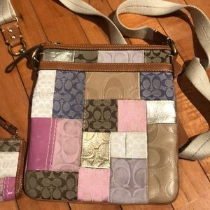 Coach cross body and wallet